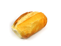 Bread. Loaf of bread isolated over white background Stock Images