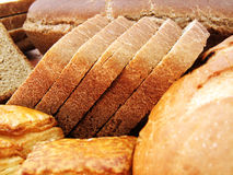 Bread. On white background. See my other images of  and food Stock Photography