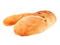 Bread. On white background. See my other images of  and food Stock Photos