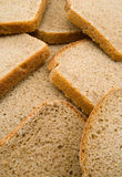 Bread. Slices of fresh russian bread royalty free stock photo