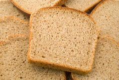 Bread. Slices of fresh russian bread royalty free stock images
