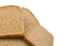 Bread. Isolated on white background royalty free stock images