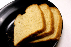Bread. And Plate royalty free stock photography