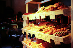 Bread. Some breads at the market stand Royalty Free Stock Image