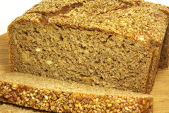 Bread. Wheat bread with corn inside and sesame seeds on Stock Image