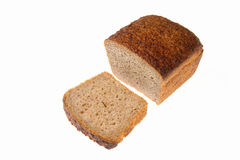 Bread-6. Whole-meal wholemeal bread. Close up Royalty Free Stock Images