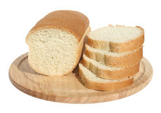 Bread. On a chopping board Royalty Free Stock Photo