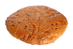 Bread. On a white background Royalty Free Stock Image