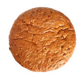 Bread. On a white background Stock Photography