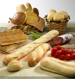 Bread. Group of some different bread Royalty Free Stock Image