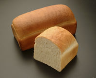 Bread. Food elemental and natural Royalty Free Stock Images