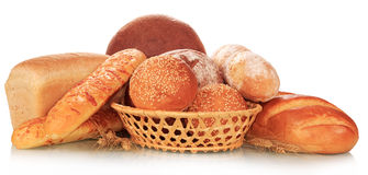 The bread abundance Stock Photos