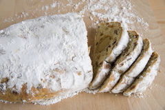 Bread with almondpaste Royalty Free Stock Image