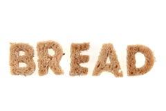Bread alphabet Stock Images