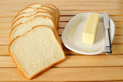 Free Bread And Butter Royalty Free Stock Photos - 45734978