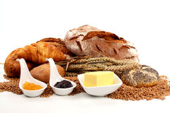 Bread And Marmalade Royalty Free Stock Photography