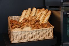 Bread And Pastries. Royalty Free Stock Photos