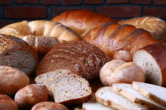 Bread And Rolls Royalty Free Stock Photography