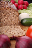 Bread And Vegetables Stock Photo