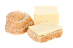 Bread anf cheese Stock Photo