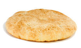 Bread Arabian. Bread Arabian (flatbread) on a white background Stock Image