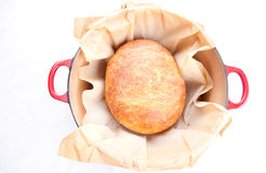 Bread artisanal style slow rise Stock Image