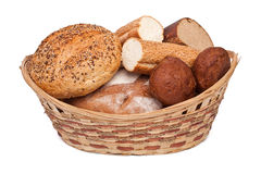 Bread assortment Royalty Free Stock Images