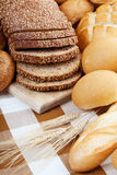 Bread assortment Royalty Free Stock Image