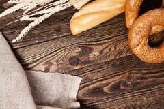 Bread assortment Stock Photos