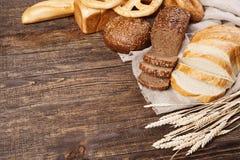 Bread assortment Stock Images