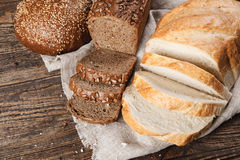 Bread assortment Stock Photo