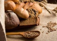 Bread assortment Royalty Free Stock Photos