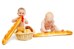Bread babies Stock Photo