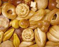 Bread Background Stock Photography