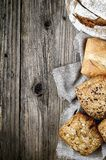 Bread background Royalty Free Stock Photos