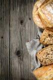 Bread background Stock Image