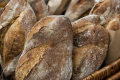 Bread background Stock Photos