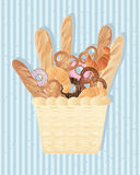 Bread background Royalty Free Stock Photo
