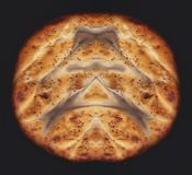 Bread background isolate royalty free stock photography