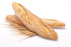 Bread - baguette Stock Photos
