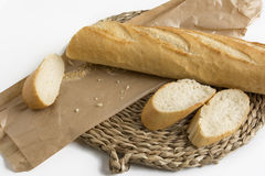 Bread baguette Royalty Free Stock Images