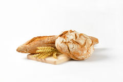 Bread and baguette Stock Images