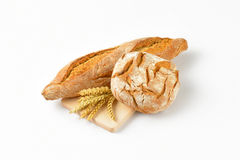 Bread and baguette Stock Photo