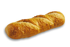 Bread  baguette, isolated Stock Photography
