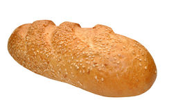 Bread.Baguette With Sesame. Royalty Free Stock Images