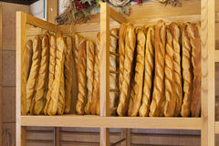 Bread baguettes Stock Photography