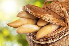 Bread Baguettes Stock Photo