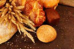 Bread, Baked Goods, Food, Fried Food Stock Photos