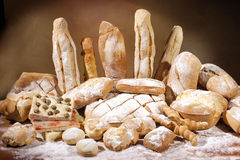 Bread and baked goods Stock Image