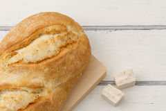 Bread and baker's yeast Royalty Free Stock Images